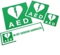 Afbeelding AED STICKER SET